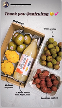 Load image into Gallery viewer, GIFT BOX WRAPPING - SOFruitsg | Singapore's Premier Fruit Delivery