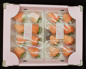 PINK AWAYUKI STRAWBERRY (JAPAN) - SOFruitsg | Singapore's Premier Fruit Delivery