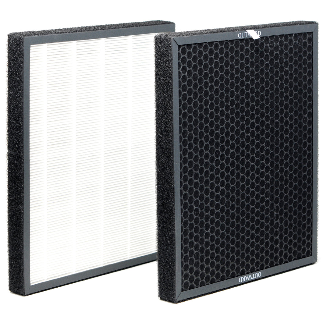 Replacement HEPA / Activated Carbon Filter for Heaven Fresh HF 380 Air Purifier (XJ-3800)