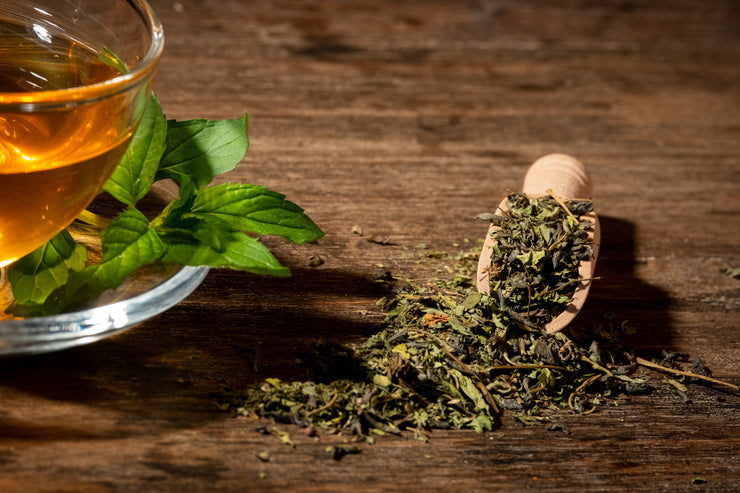 Organic Spearmint Green Tea - Tea N spice