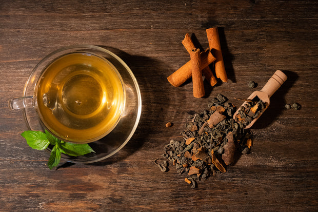 Green Tea with Cinnamon - Tea N spice