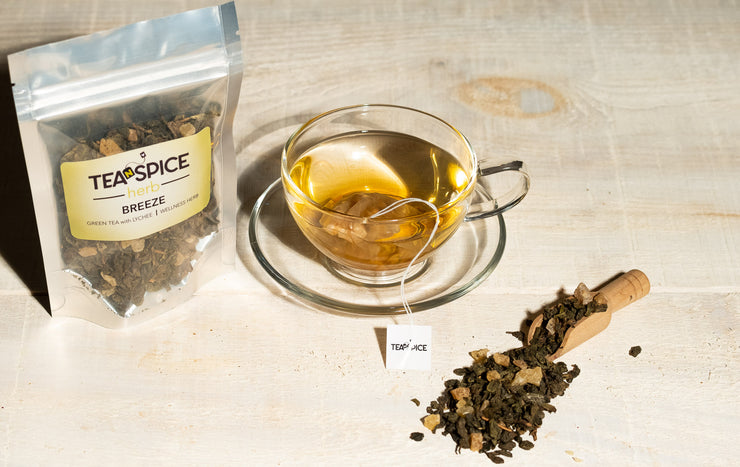 Green Tea with Lichee Infusion