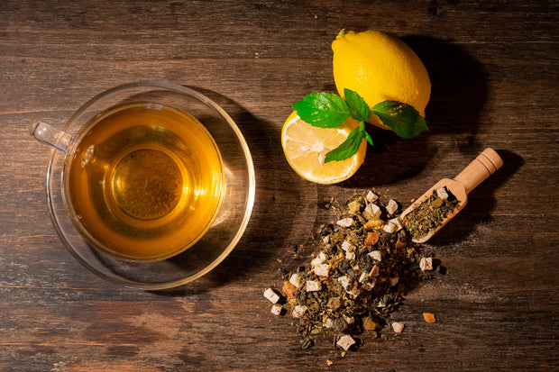Green tea with Chamomile, Lime & Mint - Tea N spice