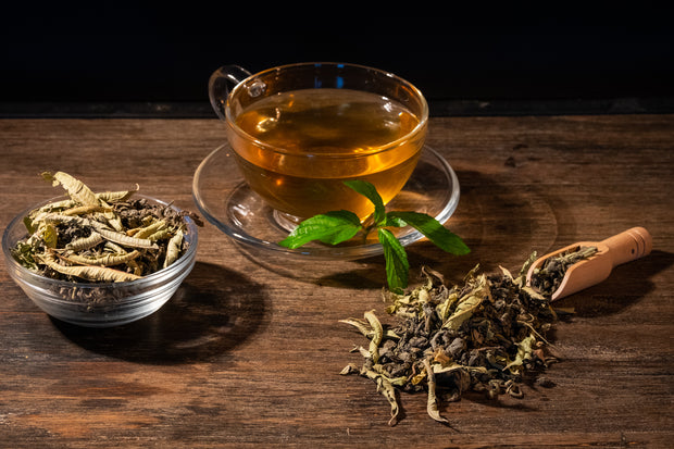 Green tea with Lemon Verbena - Tea N spice