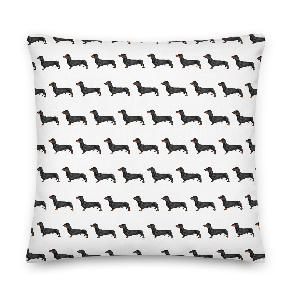 Dachshund Pattern Scatter Cushion - Pedigree Prints