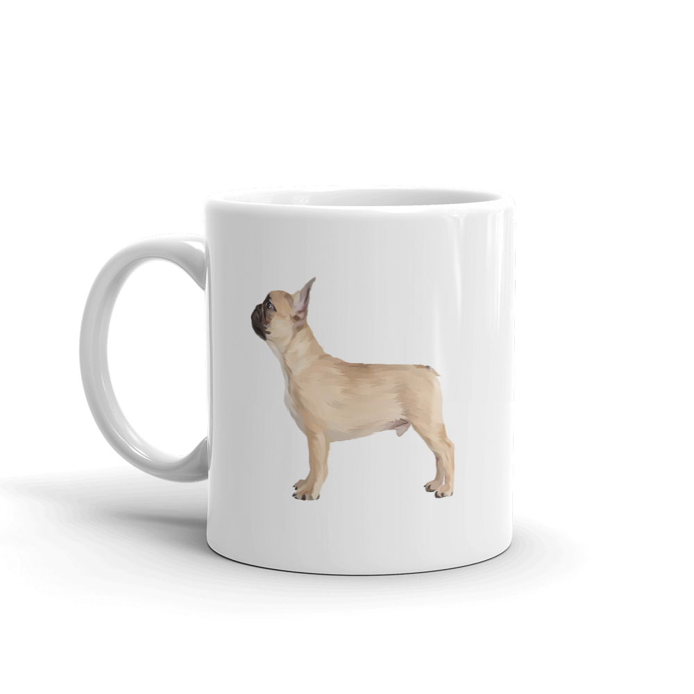 French Bulldog Heritage Mug - Pedigree Prints