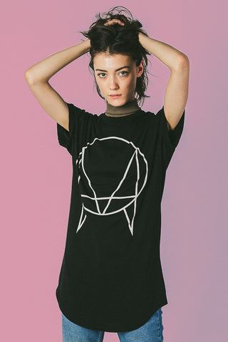 'OWSLA LOGO' EXCLUSIVE LONG TAIL T-SHIRT [BLACK] // UNISEX
