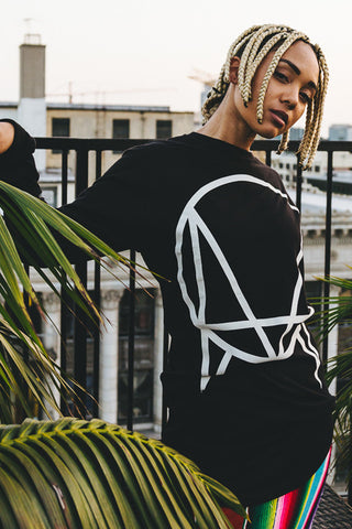 'OWSLA LOGO' EXCLUSIVE LONG TAIL LONG SLEEVE // UNISEX