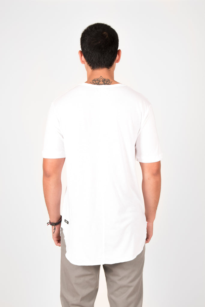 'MODAL' SHORT SLEEVE SHIRT WHITE // UNISEX