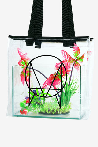 'OWSLA LOGO' CLEAR TOTE BAG