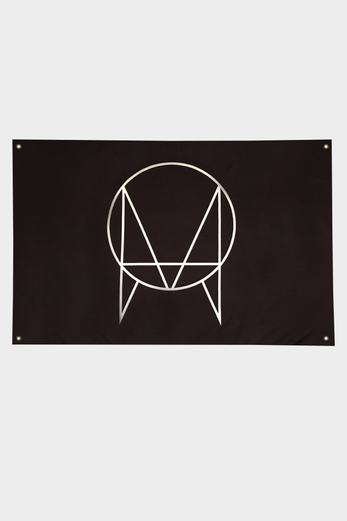 'OWSLA LOGO' FLAG // BLACK