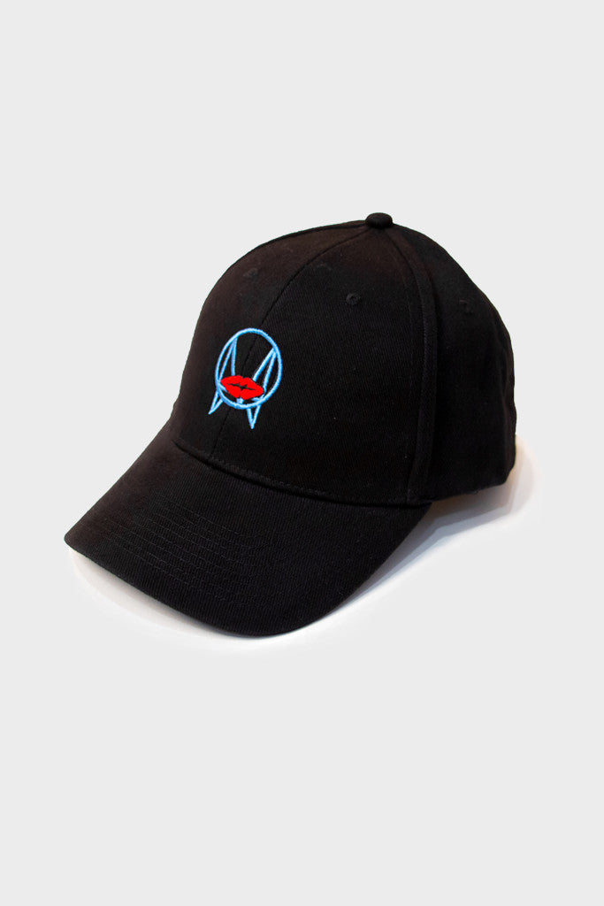 BLOBS ART LOGO DAD HAT // BLACK