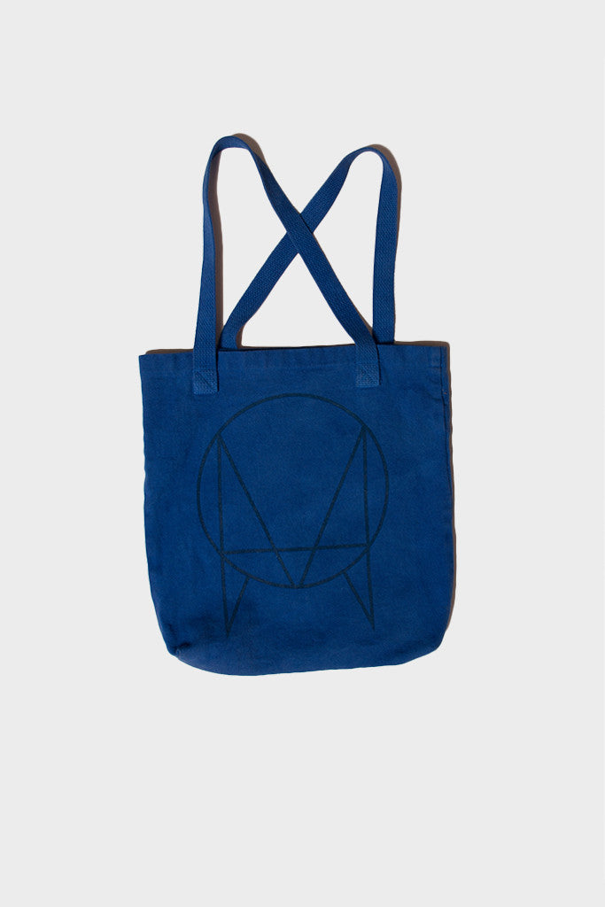 'OWSLA' LOGO TOTE BAG // BLUE