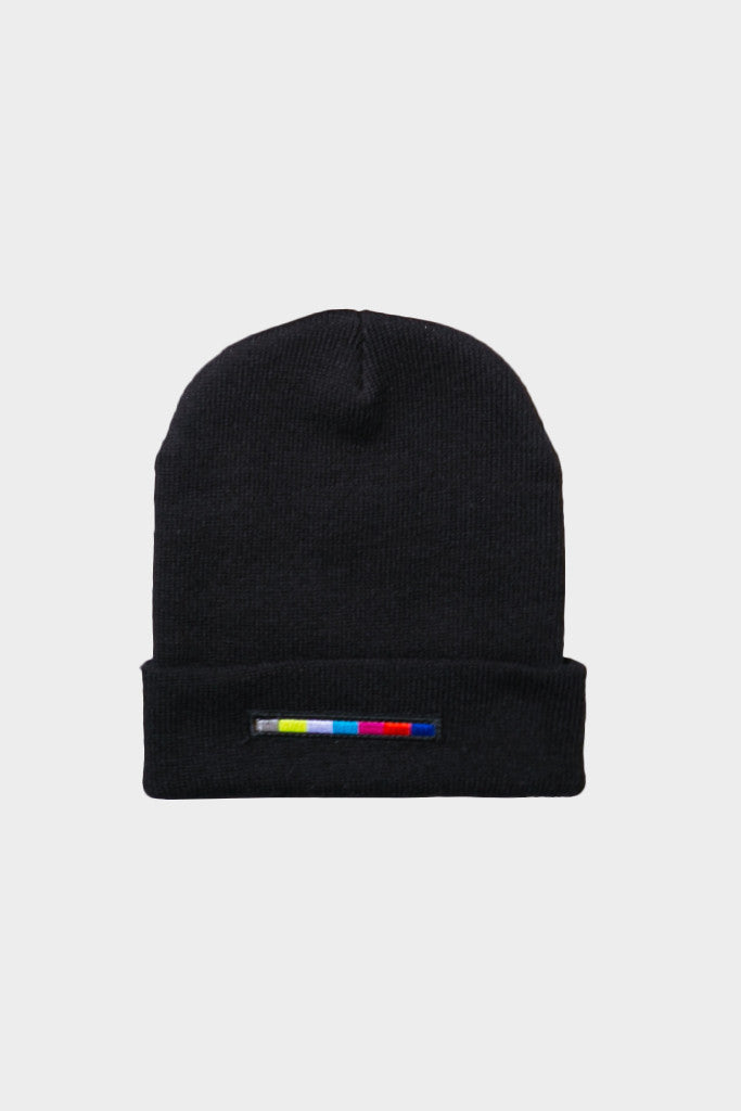 'COLOR BARS' BEANIE