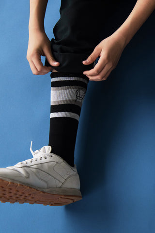 'OWSLA' BLACK WHITE GREY SOCKS // UNISEX