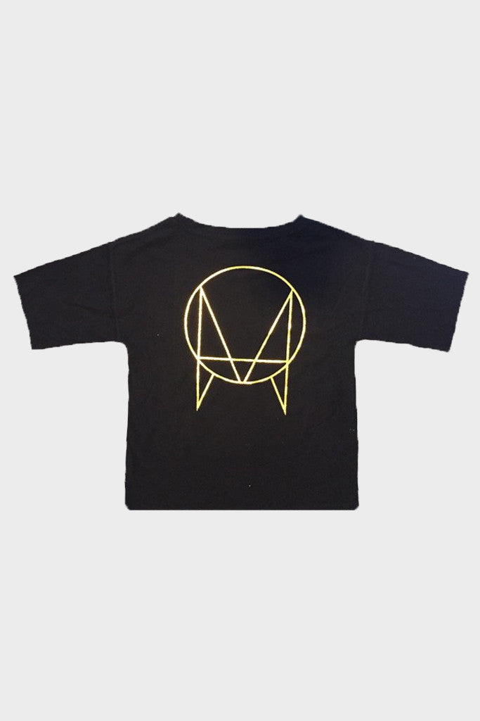 'OWSLA LOGO' FRENCH TERRY T-SHIRT BLACK // UNISEX