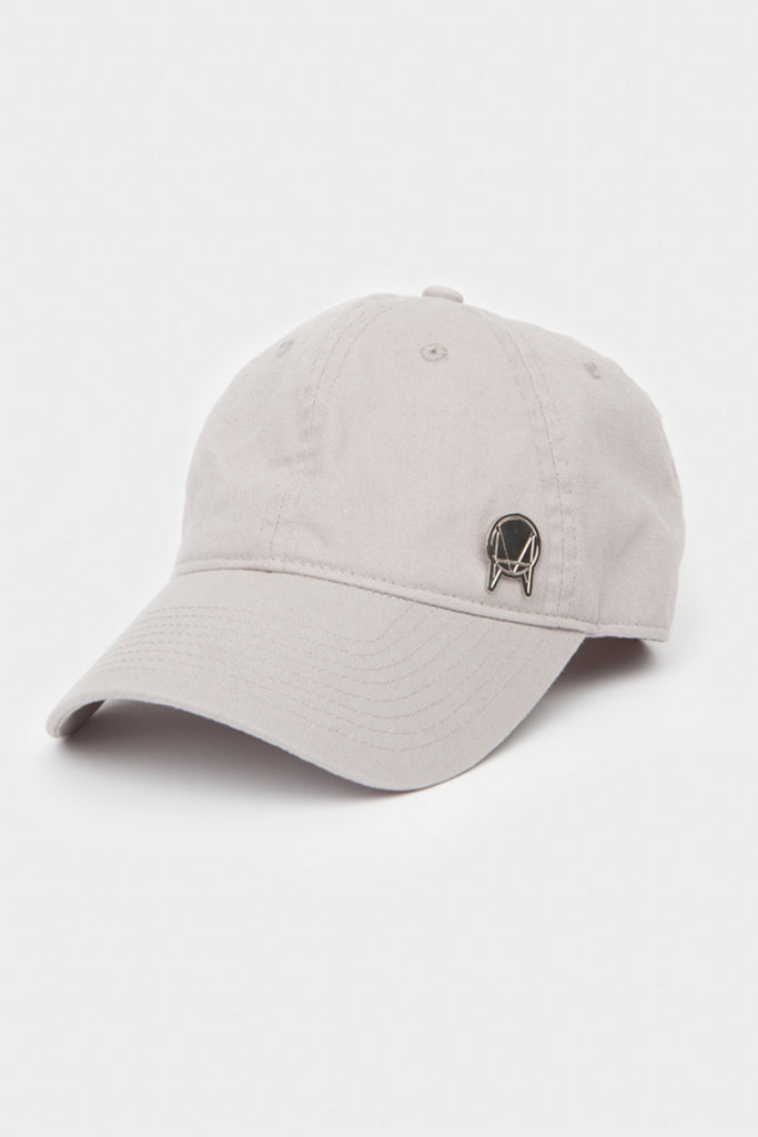 'OWSLA' UNSTRUCTURED HAT // TAN WITH GOLD PIN