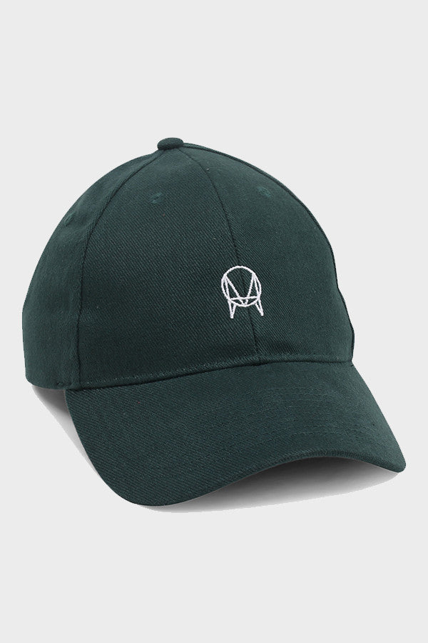 'OWSLA LOGO' DAD HAT // DARK GREEN