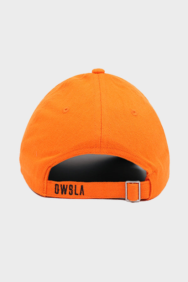 'OWSLA LOGO' DAD HAT // ORANGE