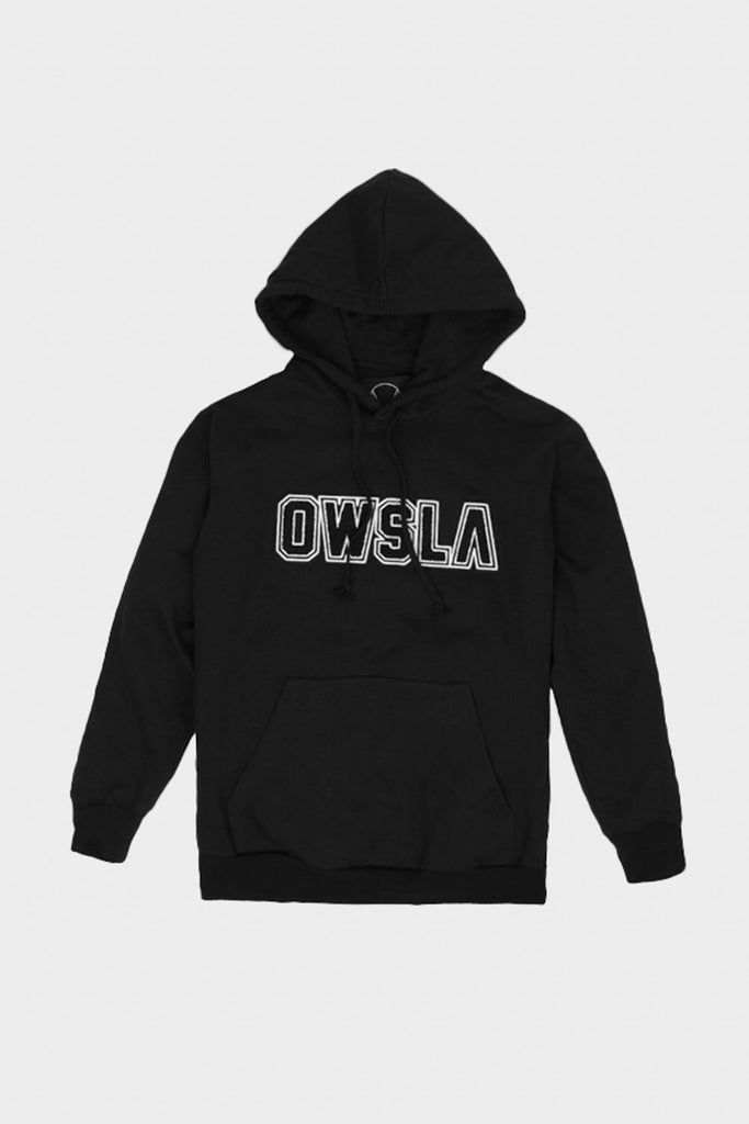 'OWSLA PATCH' HOODIE BLACK // UNISEX
