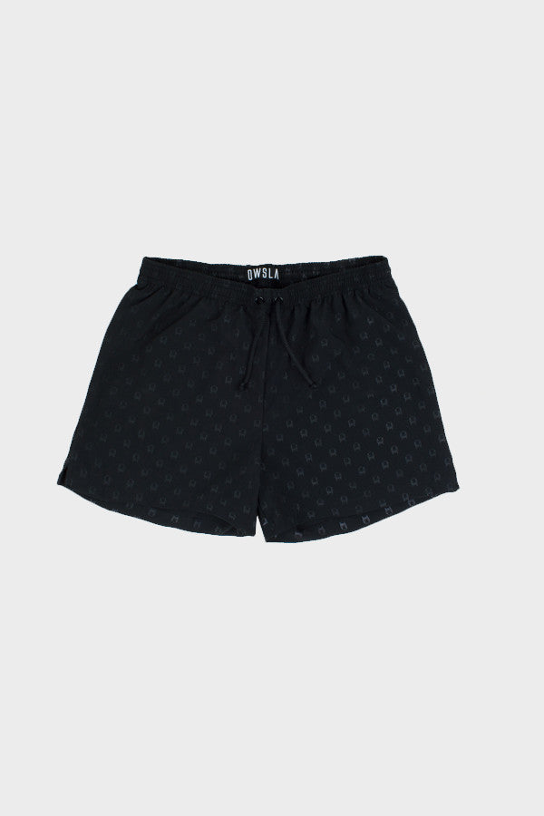 'ALL-OVER LOGO' SWIM SHORTS // UNISEX