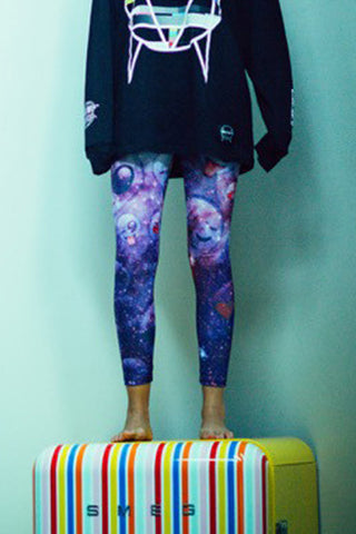 SKRILLEX 'SPACE' LEGGINGS
