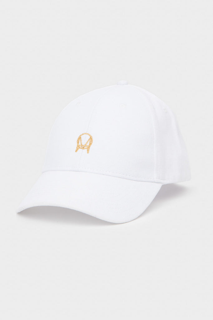 'OWSLA' DAD HAT // WHITE WITH GOLD LOGO