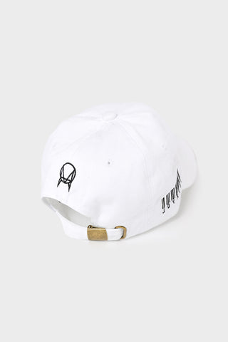 'WAREHOUSE' DAD HAT // WHITE