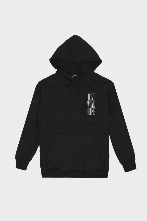 'WAREHOUSE' HOODIE FADED BLACK