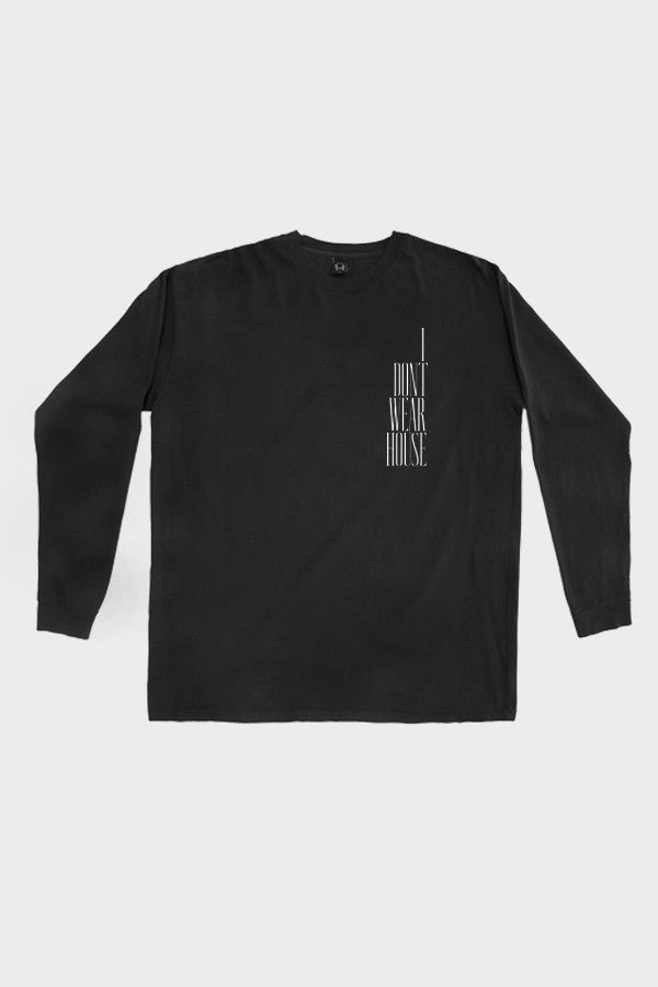 'WAREHOUSE' OVERSIZE LONG SLEEVE // FADED BLACK