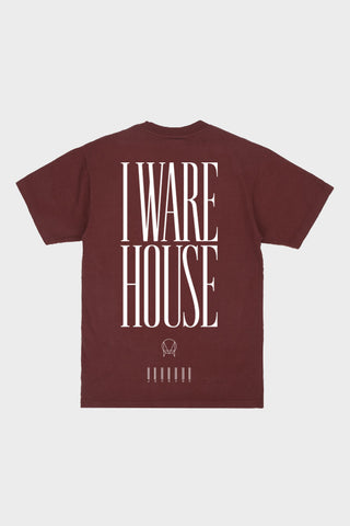 'WAREHOUSE' TEE // BRICK