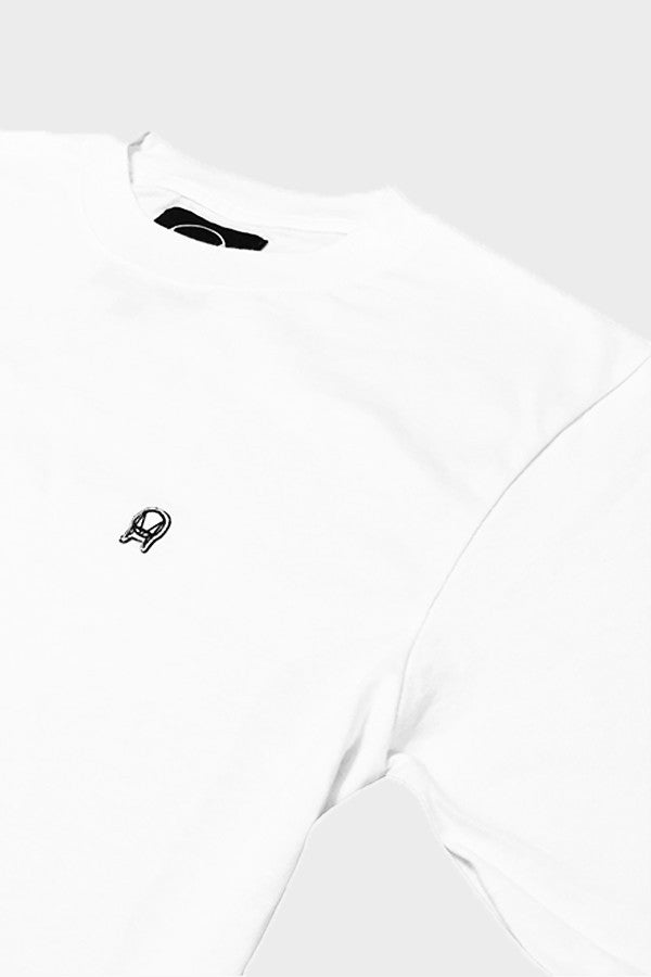 'PATCH LOGO' CLASSIC T-SHIRT WHITE // UNISEX