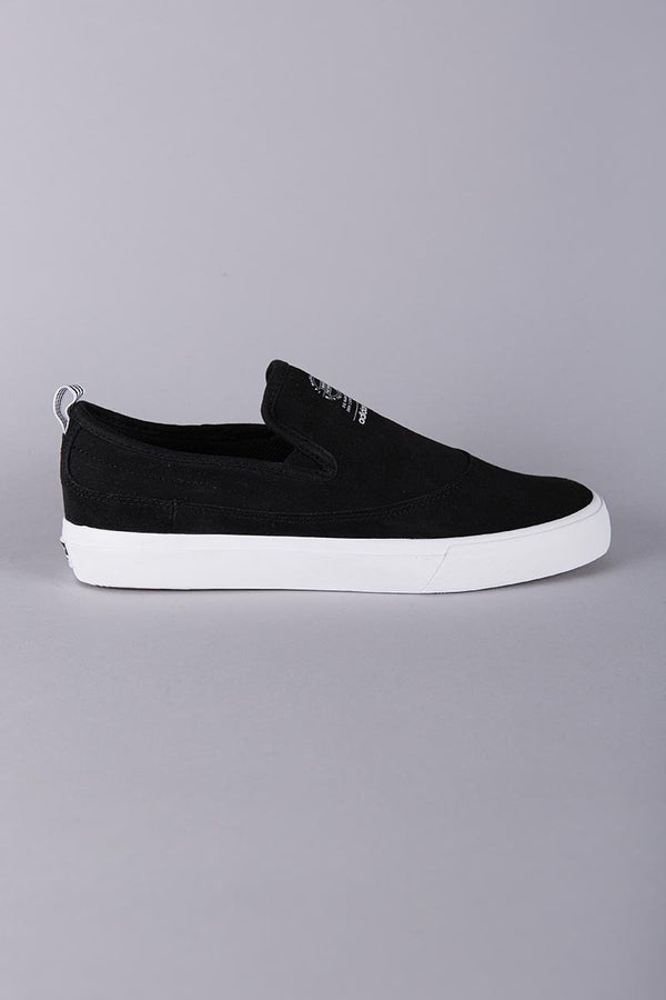 ADIDAS SKATEBOARDING MATCH COURT SLIP ON BLACK