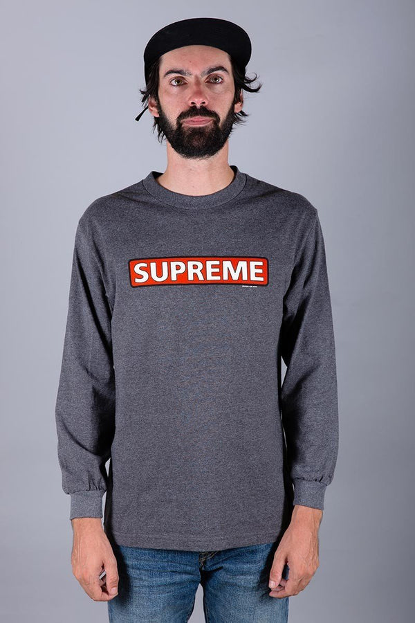 POWELL PERALTA SUPREME LONG SLEEVE GREY