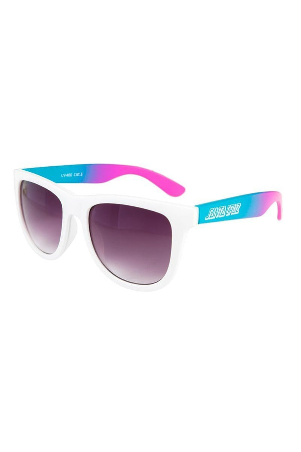 SANTA CRUZ JAMMER SUNGLASSES FADE WHITE