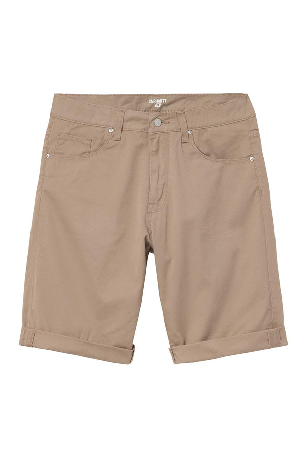 CARHARTT WIP SWELL SHORT Leather Rinsed