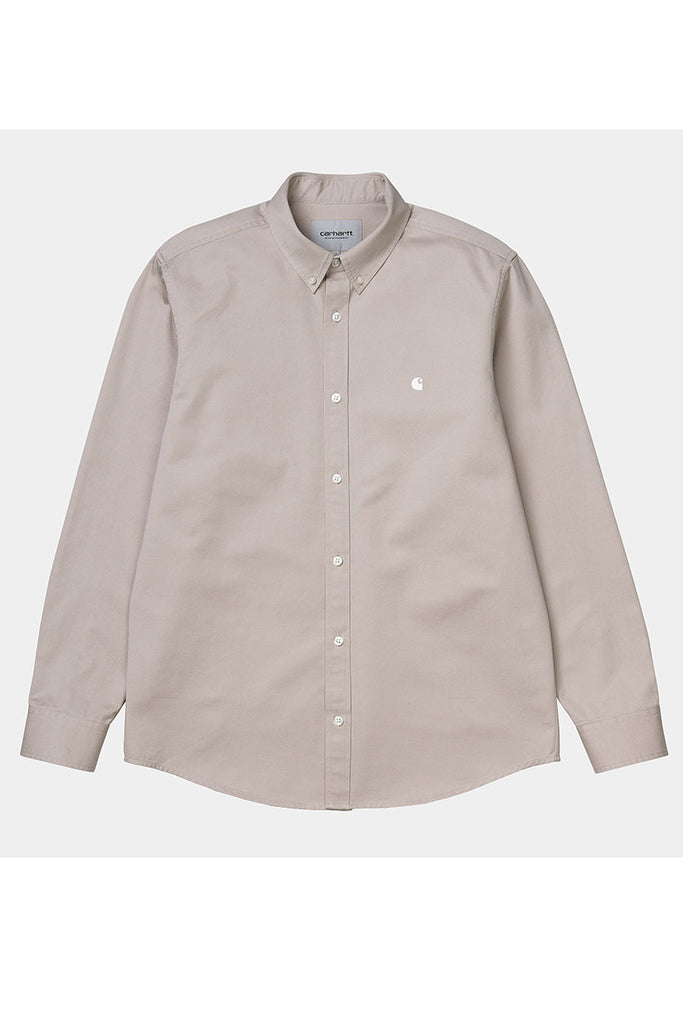 CARHARTT WIP MADISON L/S SHIRT Glaze/Wax