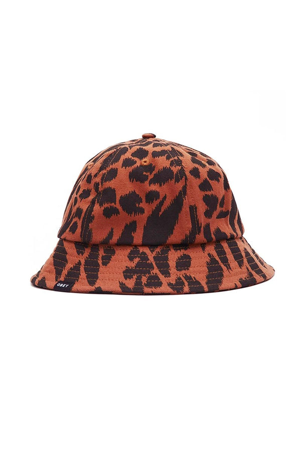 OBEY LEBRA BUCKET HAT Black Multi