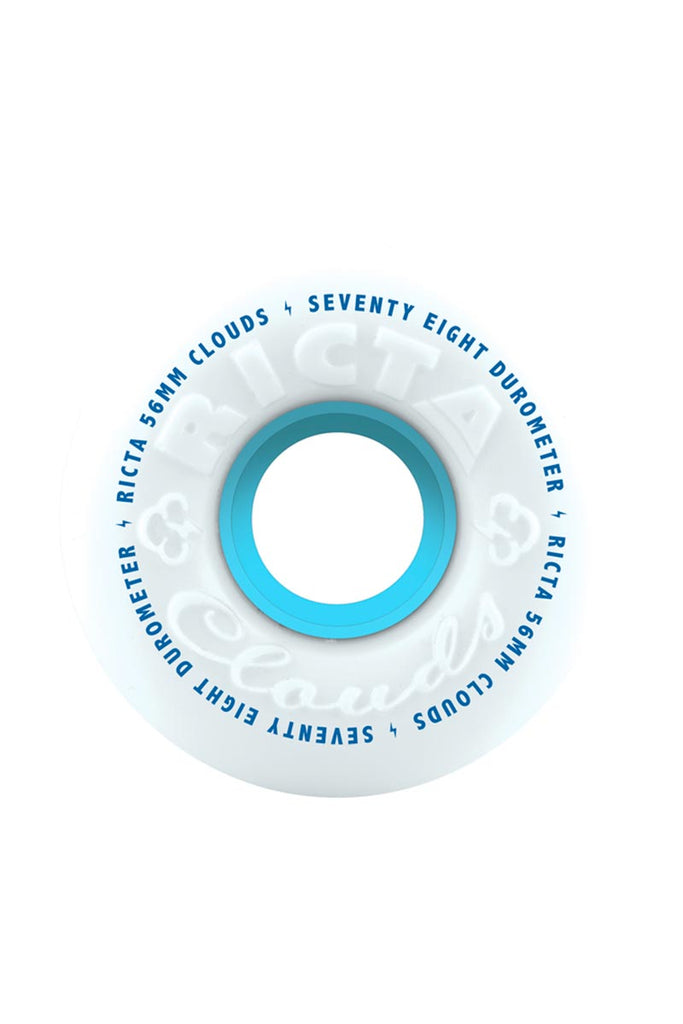 RICTA CLOUDS WHEELS 56MM 78A White (JEU DE 4)