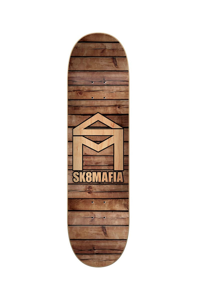 SK8 MAFIA HOUSE OF LOGO WOOD 8.25