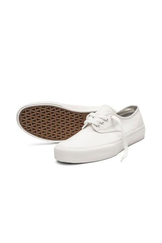 STRAYE FOOTWEAR GOWER CREAM CANVAS