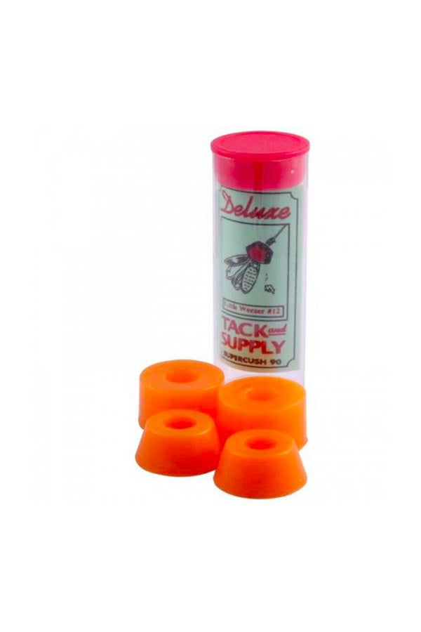 SUPERCUSH BUSHINGS TUBE 90DU ORANGE (JEU DE 4)