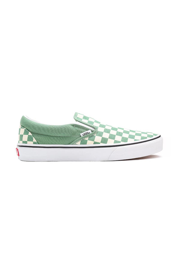VANS CLASSIC SLIP-ON (checkerboard) Shale / Trwht
