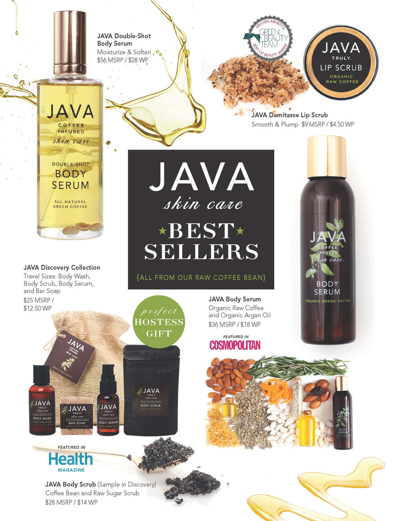 JAVA Skin Care Sell Sheet p1