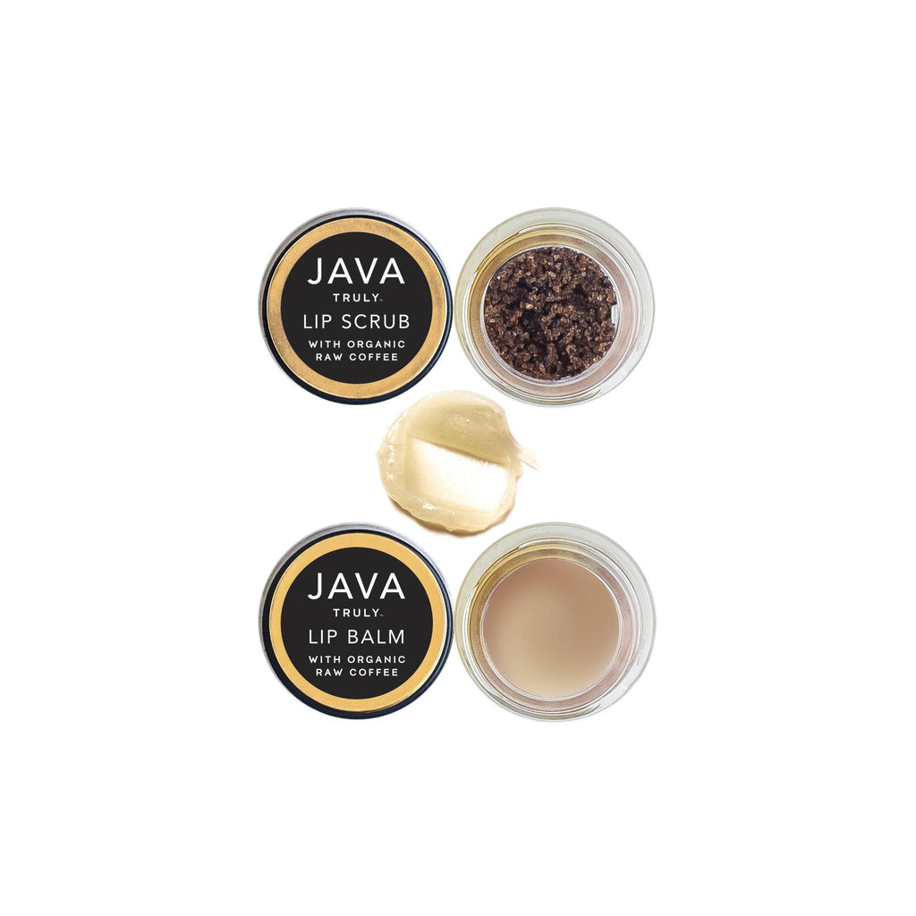 DEMITASSE LIP DUO displayed open outside of box - Java Skin Care