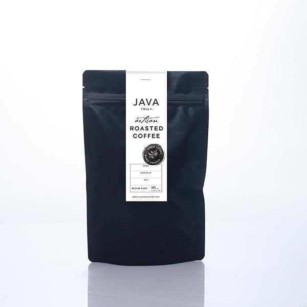 JAVA TRULY COFFEE - MEDIUM ROAST - Java Skin Care Body and Skin Care