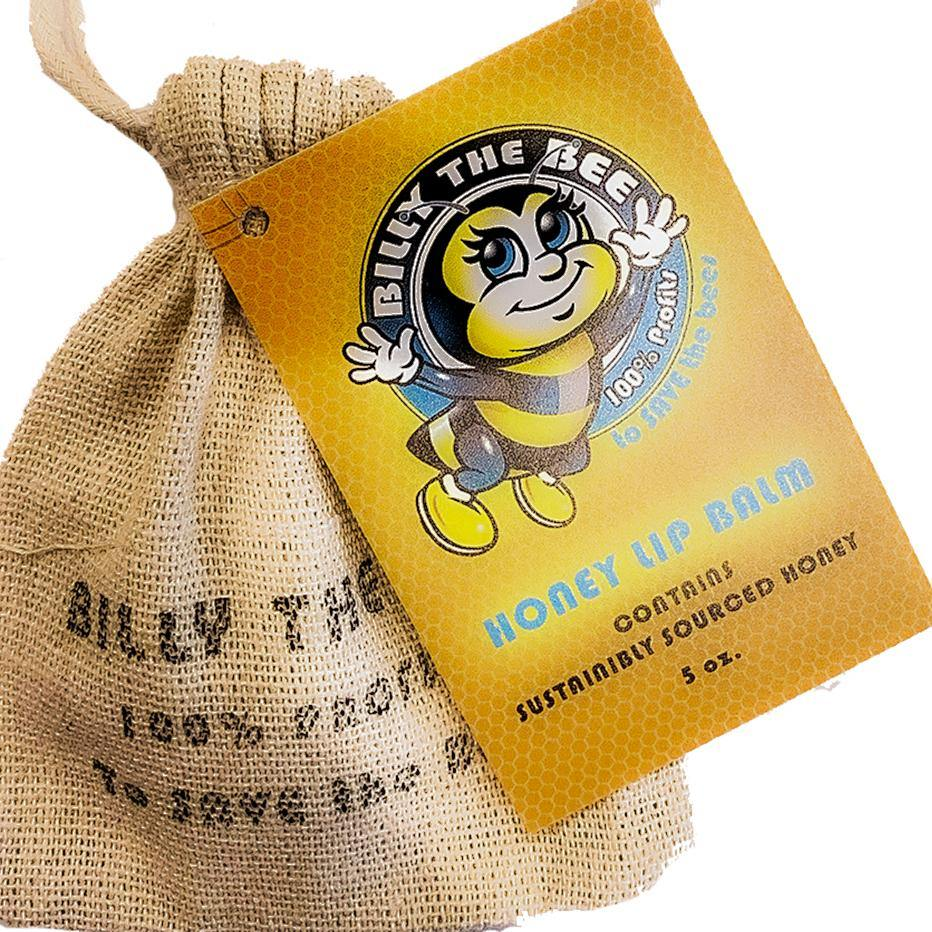 Billy the Bee Honey Lip Balm