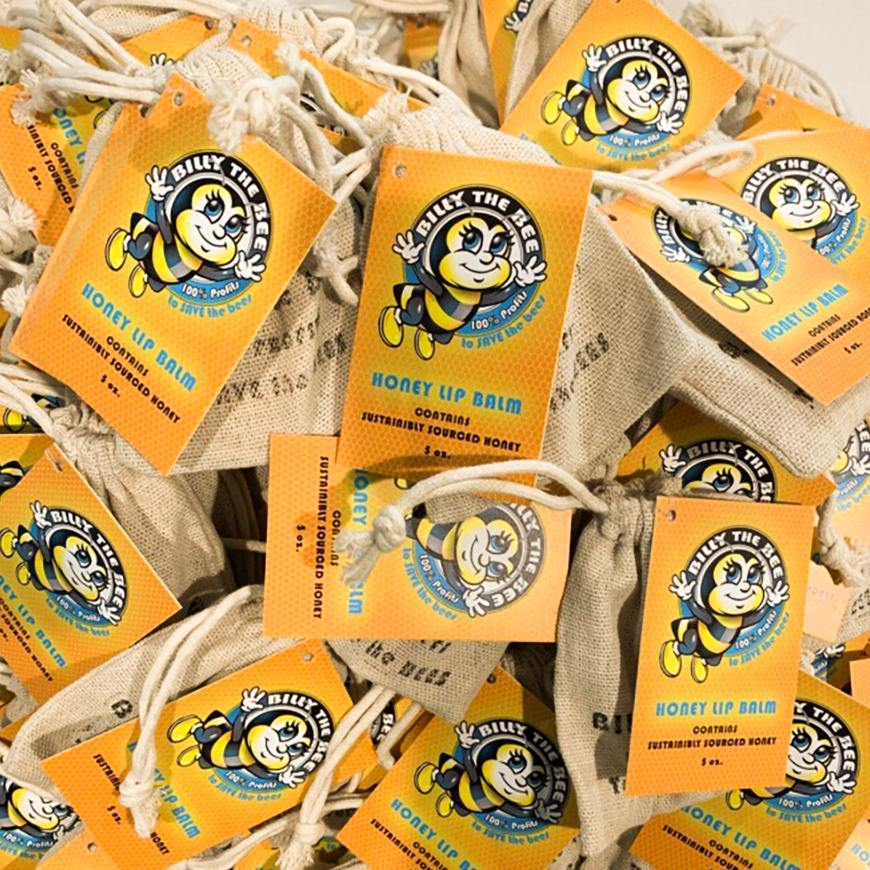 BILLY THE BEE HONEY LIP BALM - Java Skin Care