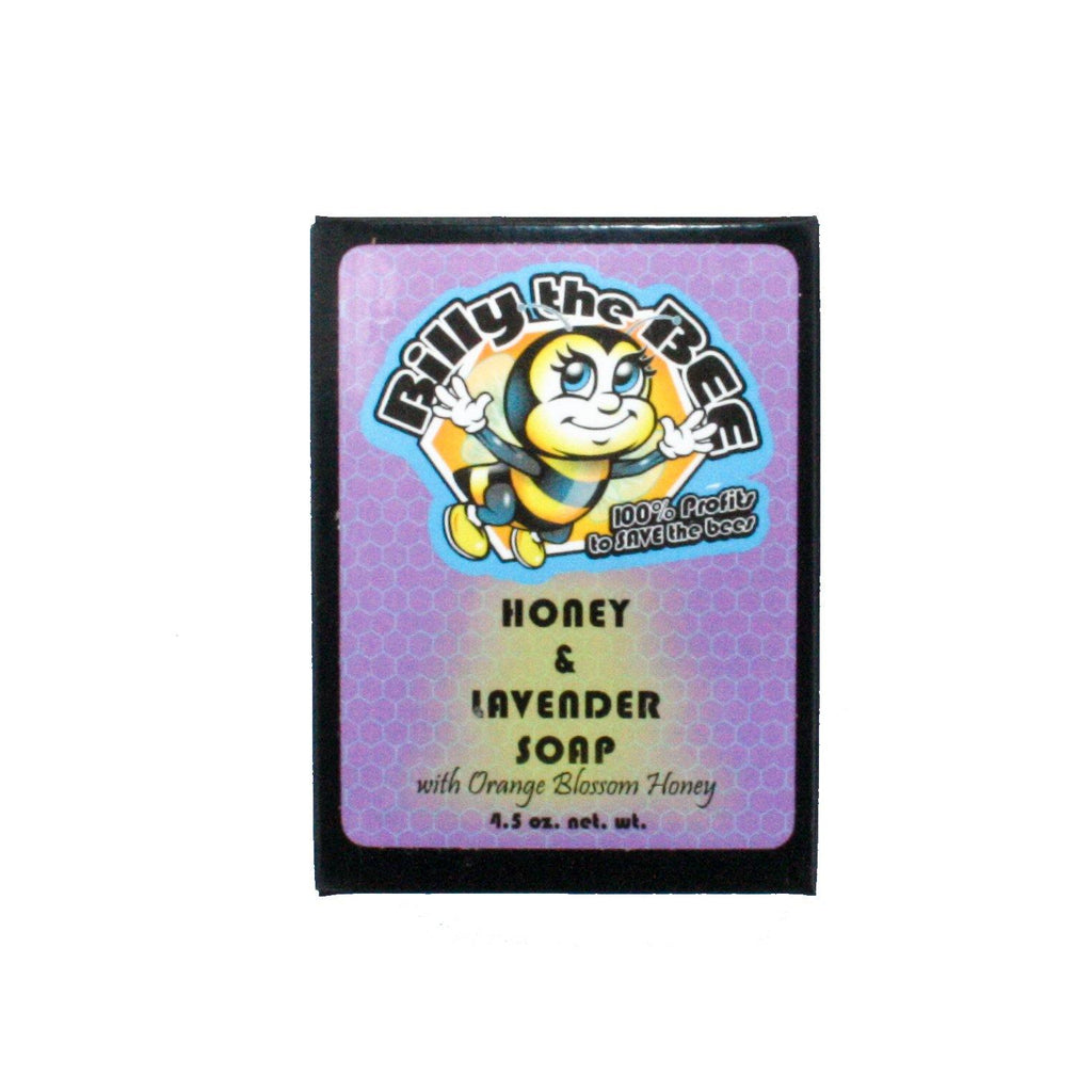 BILLY THE BEE HONEY & LAVENDER SOAP - Java Skin Care
