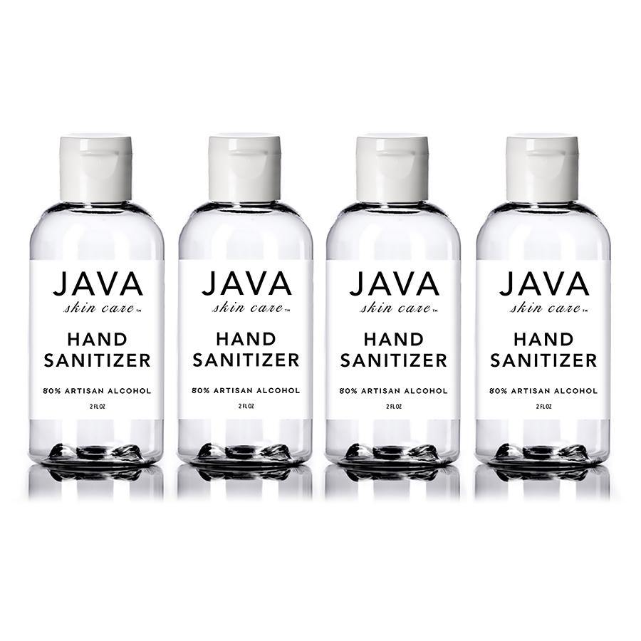 HAND SANITIZER 4-BOTTLE COLLECTION - Java Skin Care